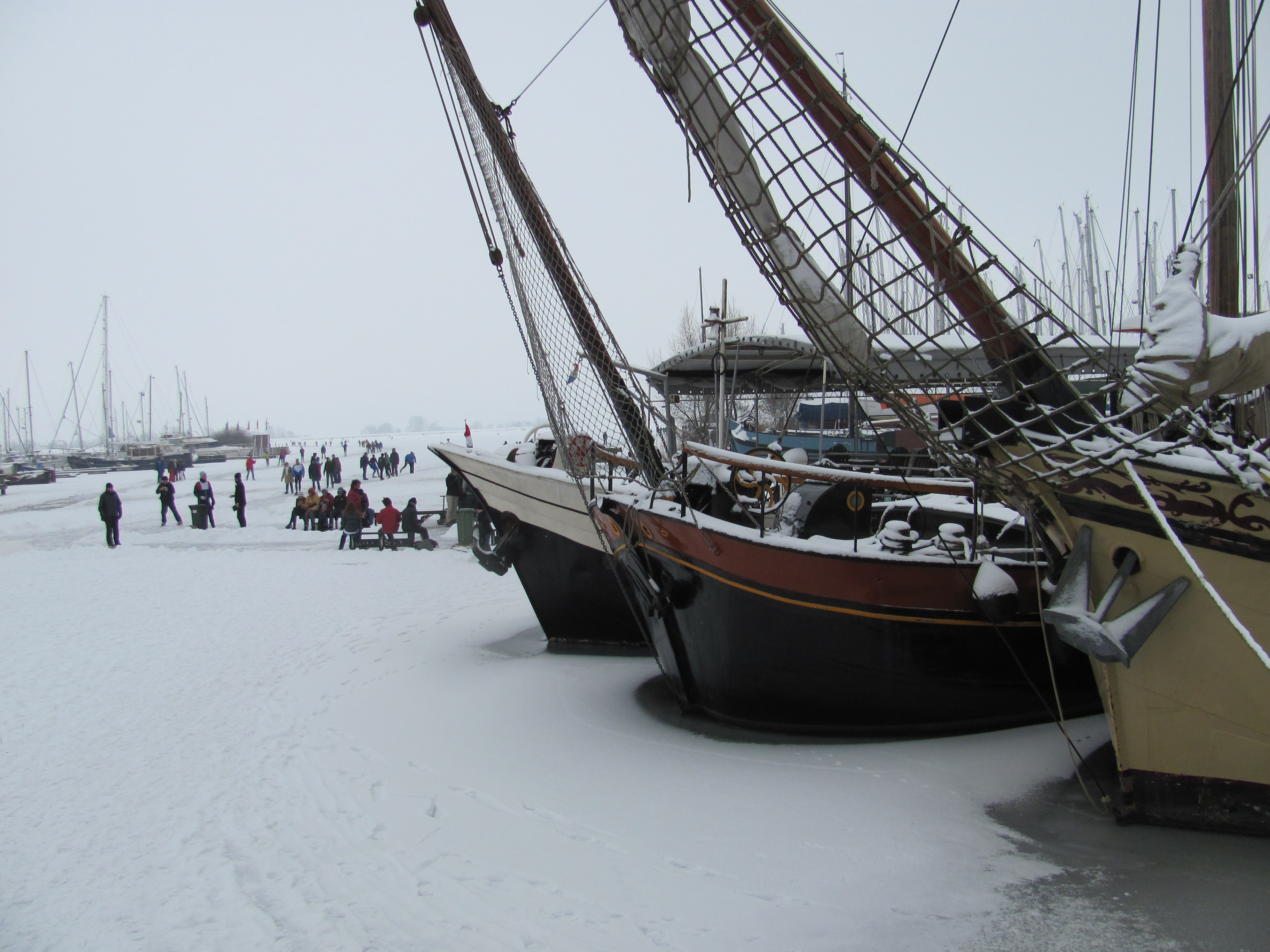 Winter Monnickendam
